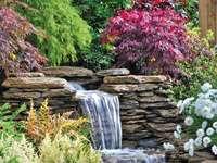 υπέροχος κήπος - γοητευτικός κήπος για χαλάρωση
