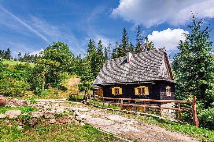 Beskids din Silezia. puzzle