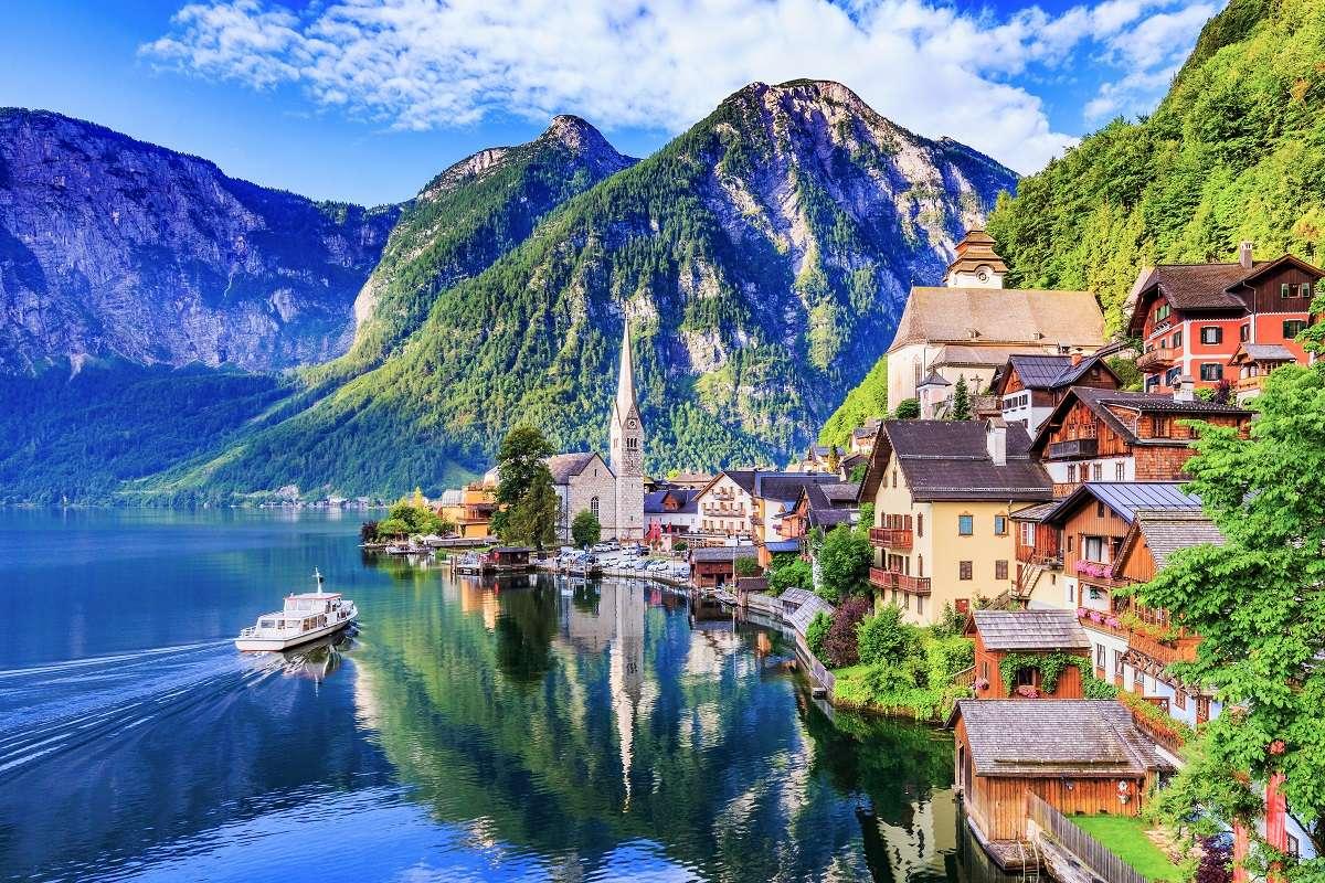 Австрия - Европейски пейзаж: Австрия (12×12)