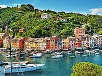 Portofino. - Europa. Włochy. Portofino.