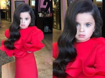 moda i uroda - mała miss z Izraelu