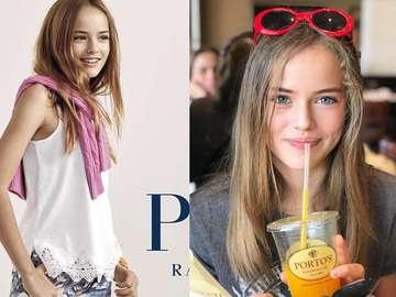 moda i uroda - dziewczęca, piękna uroda małe dziecko