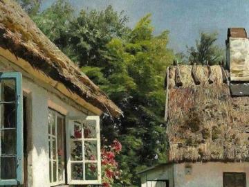 Enfance à la campagne - Une belle maison et une enfance à la campagne