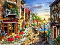 strada colorata