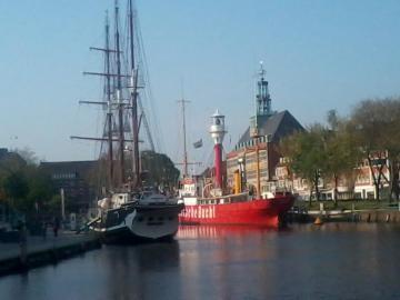 Port d'Emden - Port au centre ville d'Emden