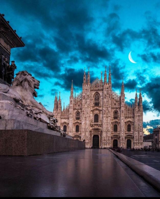 Piękny Mediolan
