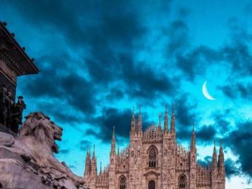 Piękny Mediolan - Mediolan piękny krajobraz