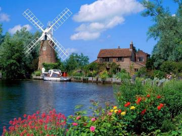 Nederland. - Nederlands landschap.