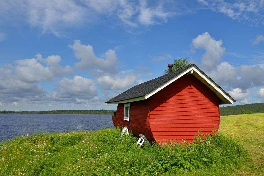 Finnországban - Két ház - talán nem (10×10)
