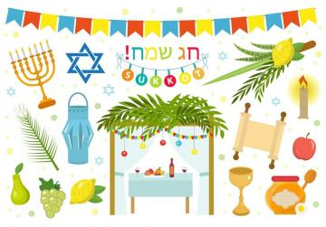 Happy Sukkot - Sukkot Festival, otherwise known as the Feast of Tabernacles