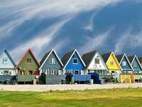 Finlandia. - Finlandia. Casas de colores