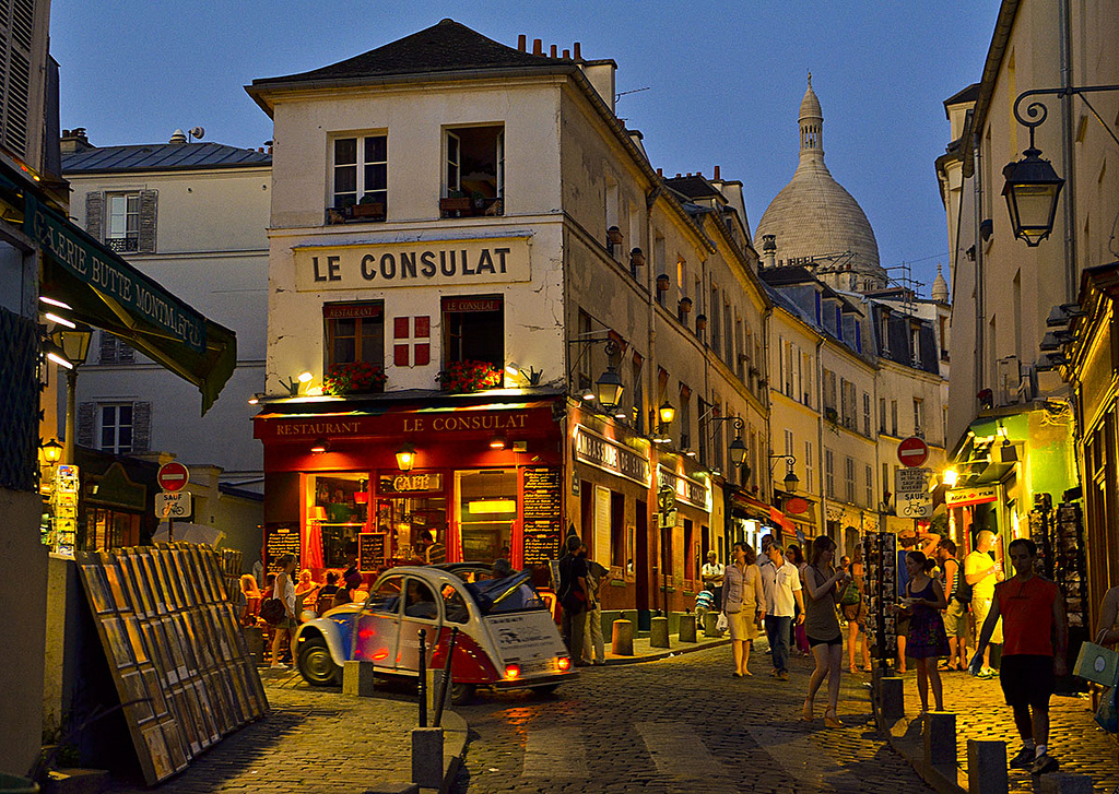 Montmartre in Paris - Romantisches Montmartre in Paris (10×10)