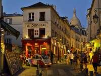 Montmartre a Parigi.