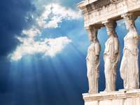 Ελλάδα Αθήνα - Η Αθήνα και οι καρυάτιδες
