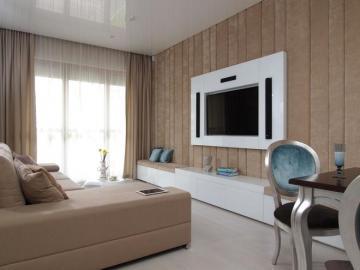 Un salon moderne - C'est un salon moderne.