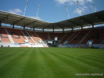 National Stadium Legia Warsaw - the stadium presents a sporting bivy