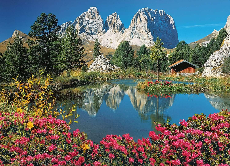 Hegyi táj - Gyönyörű hegyi táj (10×10)