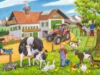 Ζωή στο χωριό. - La vie idyllique à la campagne