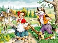 Rotkaeppchen - Rotkaeppchen. Rotkäppchen und der Wolf. Rotkäppchen. ULUBIONA BAJKA ZOŚI. Czerwony Kapturek zu ba