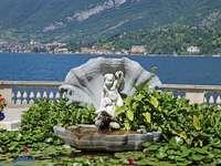Panorama Bellagio. - Panorama Bellagio nad jeziorem Como.