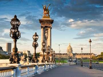Paris landscape. - A unique Parisian landscape.