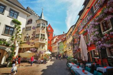 Meersburg. - A city on Lake Constance.