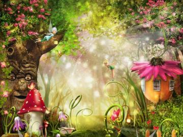 Fées  - Beautiful winged fairies.