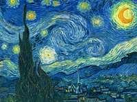 Starry Night από τον Van Gog - Αυτό το παζλ έχει καλλιτεχνική γεύση: ο Van Gogh και ένας α�