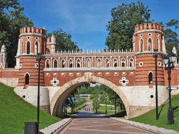Tsaritsyno - Tsaritsyno, a beautiful park in Moscow
