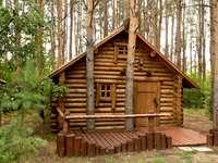 Εξοχικό σπίτι στο δάσος.