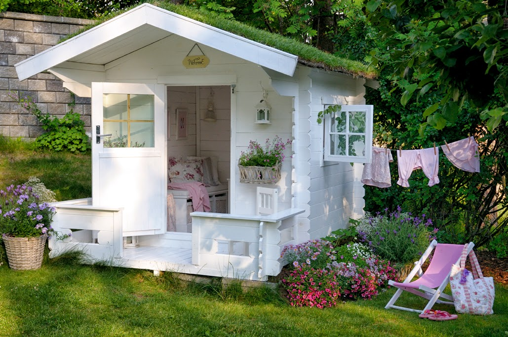Cottage in the garden - Cottage for a girl. Lovely (10×10)