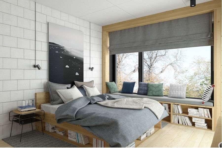 Идея за спалня -  (8×8)