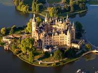 Замъкът Шверин. Германия.
