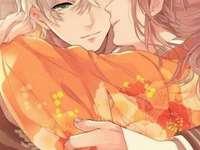 Krásná láska pár