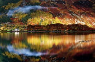 Scotland. - A mysterious and secluded Scotland.