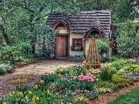 Cottage in giardino - E ricopiare di nuovo. Che bello!