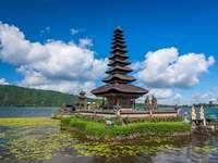 Indonesische Landschaft.