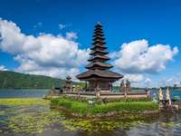 Peisaj indonezian.