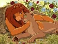 Lion King - SIMBA OCH NALA