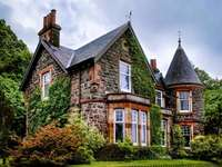Къща в Шотландия.