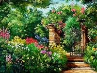 Hemlig trädgård