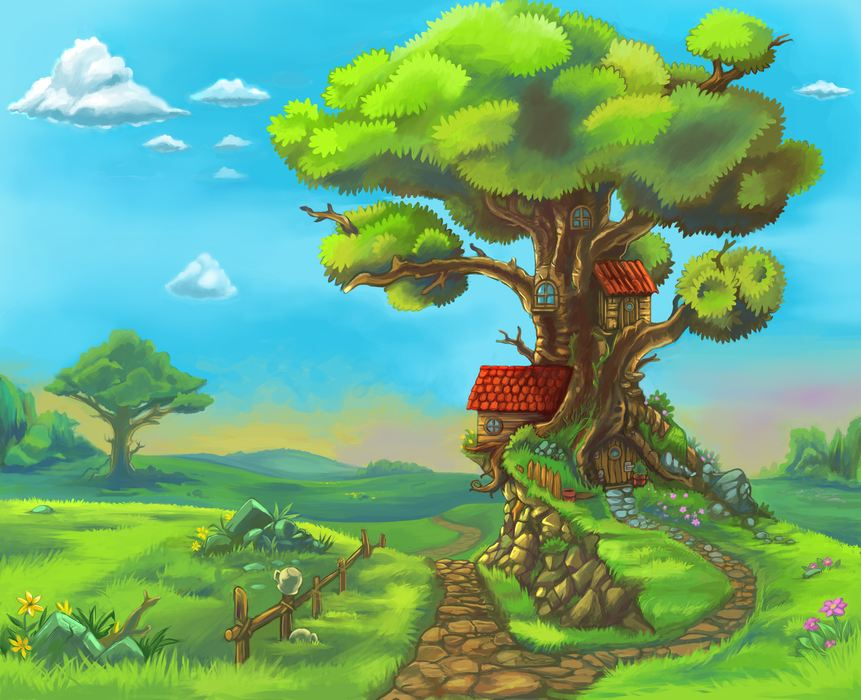 Cabanes dans les arbres - Pour les enfants: cabanes dans les arbres (5×5)