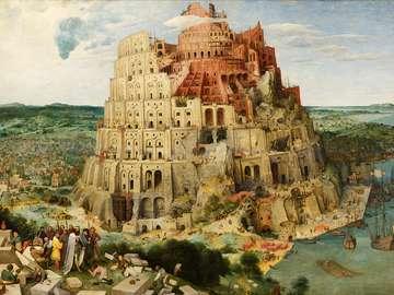 Torre di Babele - La Torre di Babele, un romanzo biblico su come Dio ha confuso le persone con le lingue