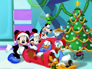 Christmas - Cheerful Gromadka Disney