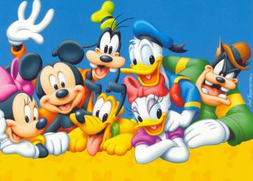 Donald Duck with friends - A cheerful bunch of friends