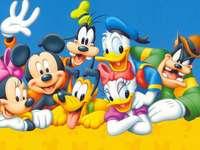 Donald Duck cu prietenii
