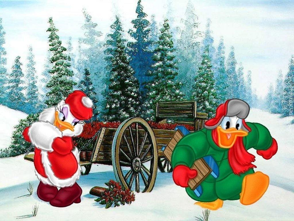 Donald und Daisy - Donald und Verlobte (9×9)