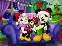 Mickey Mouse Kerstmis