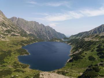 Valley of five Ponds - Dolina Pięciu Stawów Polskich, mountains, pond, High Tatras