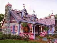 Une maison insolite.